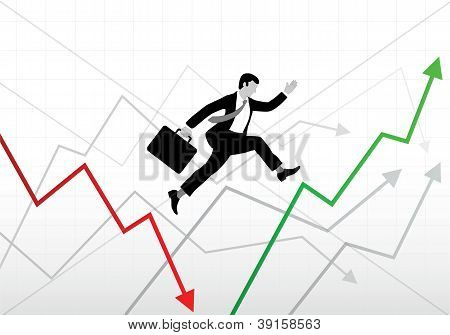Business world ups and downs