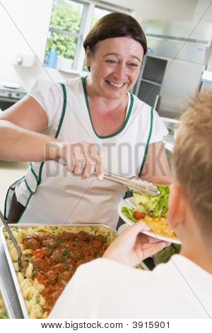 Dishing Out School Dinners