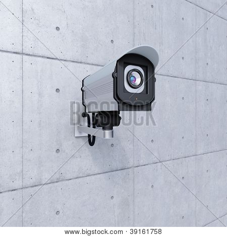 Cctv Camera Looking To The Right