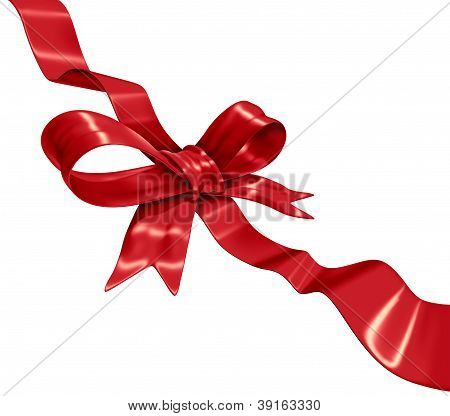 Red Ribbon Decoration