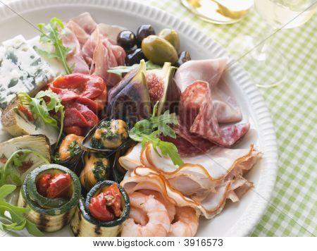 Platter Of Antipasto