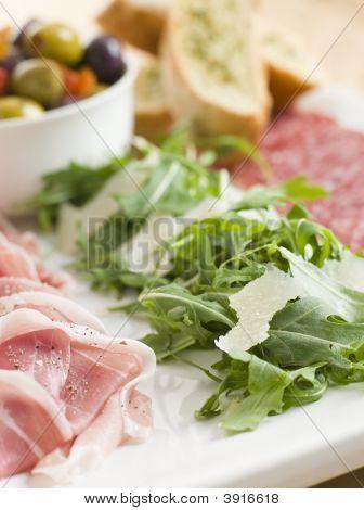 Platter Of Anti Pasta