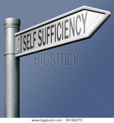 self sufficiency personal autonomy permaculture sustainable energy and agriculture independent and freedom sustainability