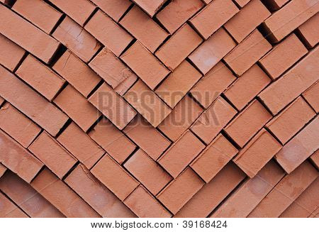 A Pile Of Kiln Bricks