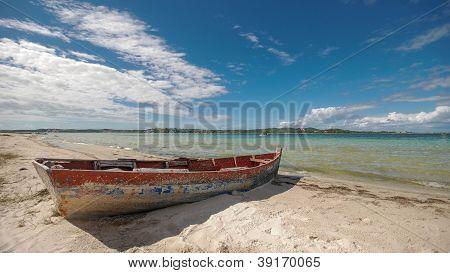 Boat in Bilene