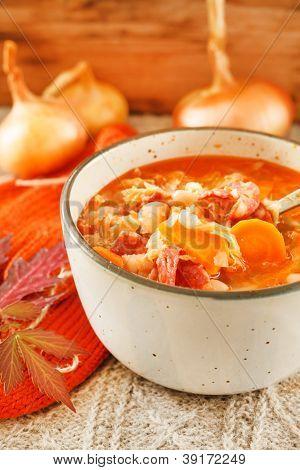 winter bean soup
