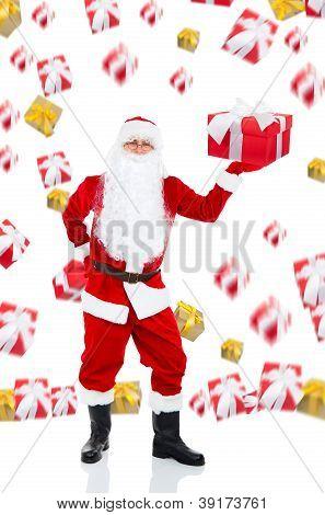 santa clause creative disign