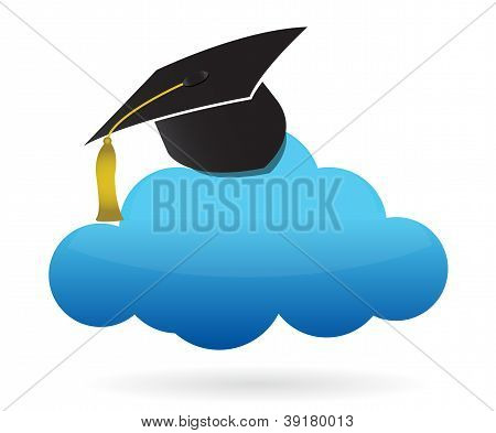 Cloud And Education Hat