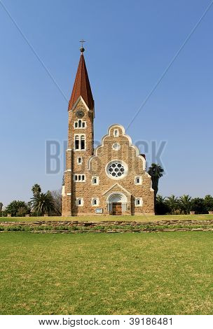 Christuskirche, Famous Lutheran Church Landmark In Windhoek