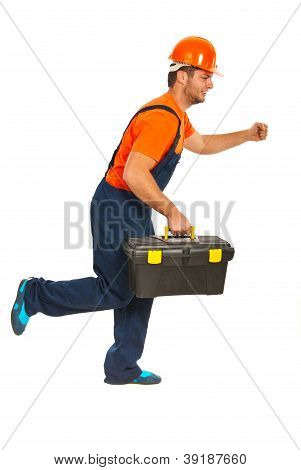 Running  Builder Workman