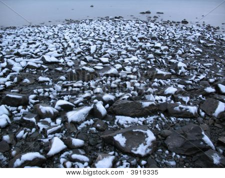 Snowed Stones