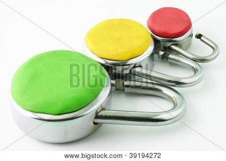 Tres niveles de seguridad