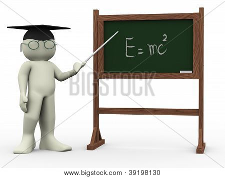 3D Teacher And Einsteins Theory