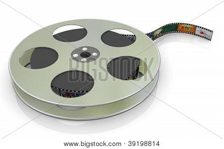 3D 16 mm-Filmrolle