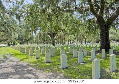 Beufort National Cemetary