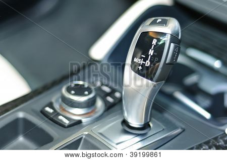 Gearstick Of Bmw