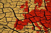 Drought In Europe poster