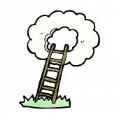 pic of stairway to heaven  - cartoon stairway to heaven - JPG