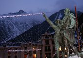 Monument In Chamonix poster