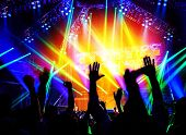 stock photo of life events  - Rock concert - JPG