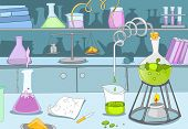 pic of beaker  - Chemical Laboratory - JPG