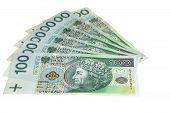 Polish Banknotes poster