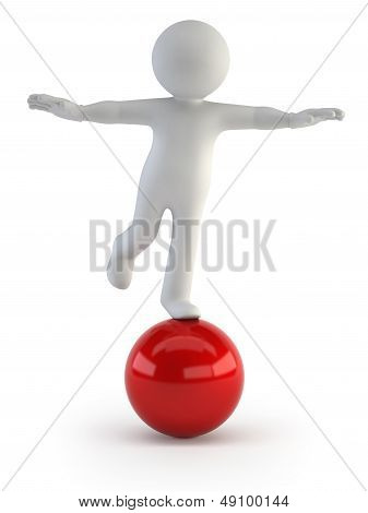 3D Small People - Balance