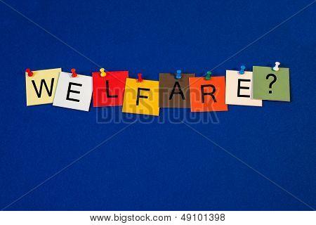 Welfare - Sign For Social Care.