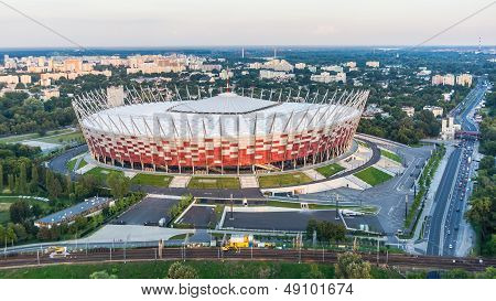 National Stadium in Warsaw