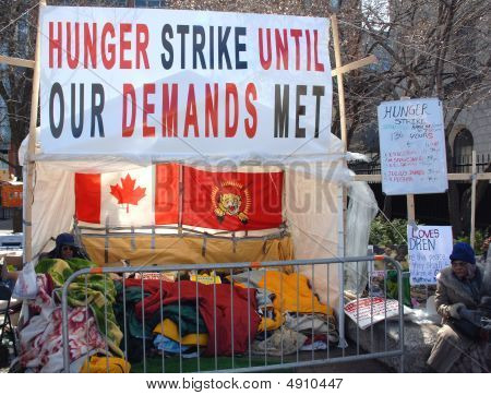 Tamil Hunger Strike
