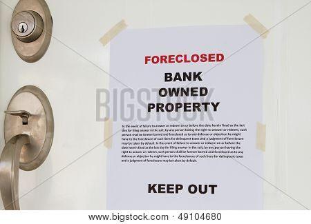 Foreclosed