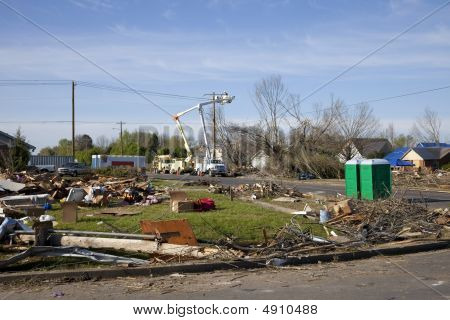 Tornado Path