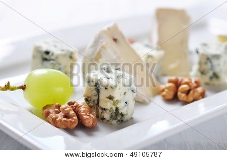 Camembert And  Blue Cheese