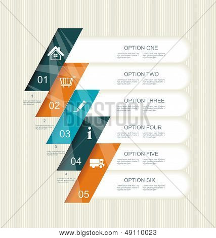 Modern Step Options Banner.