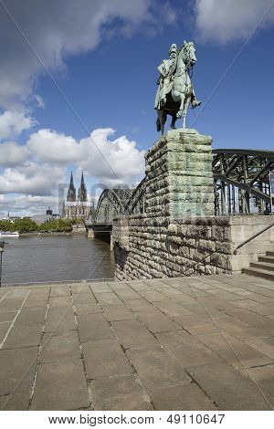 Cologne - Equestrian Statue Of Wilhelm I.