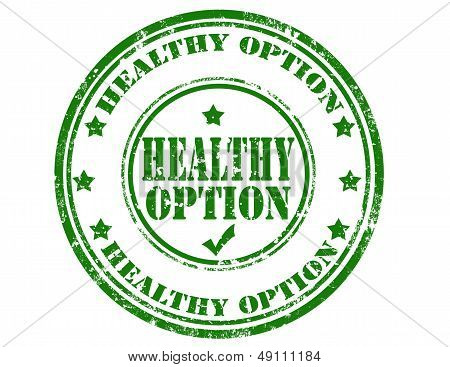 Healthy Option-stamp
