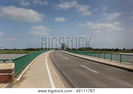 Bridge To The German City Of Leer