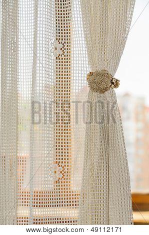 Rustic Curtain Clip