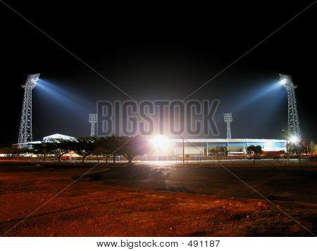 Estadio de noche