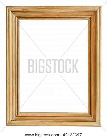 Wide Clacssical Gilt Picture Frame