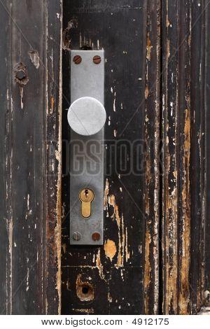 Old Door With Doorlock