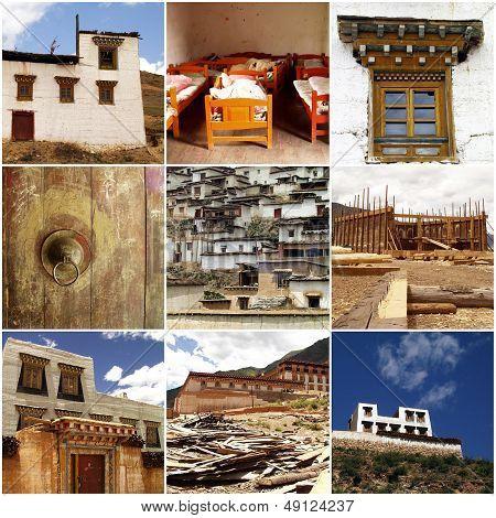 Tibetan Architecture In China