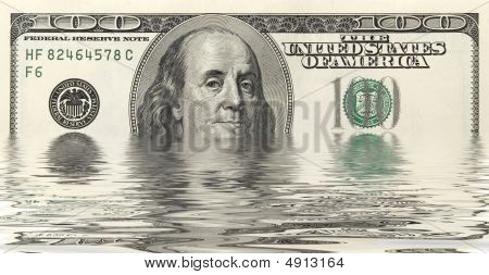 Dollars In Water