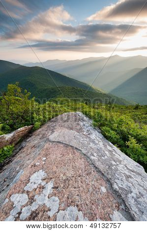 Blue Ridge Mountains Scenic Landscape