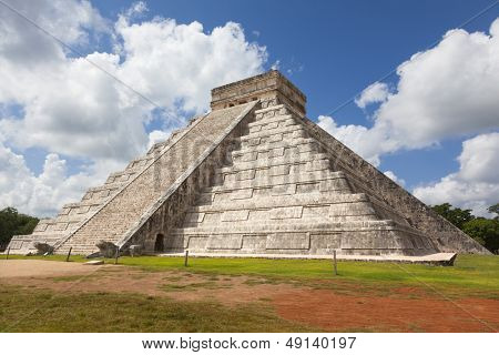 Ancient Mayan Ruin - Chichen Itza Mexico