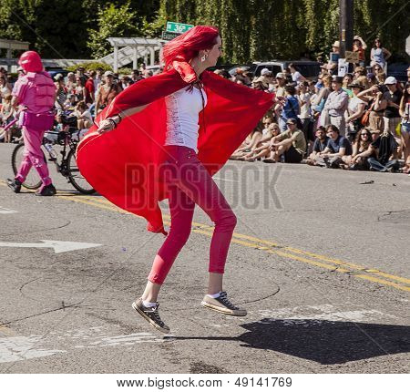Super Hugger In The Parade
