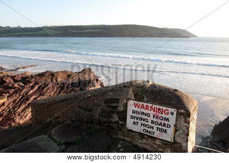 Dive Board Warning