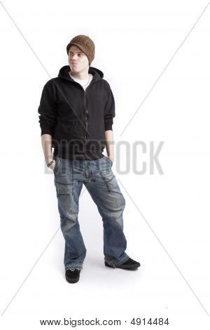 Teen Aged Boy Standing