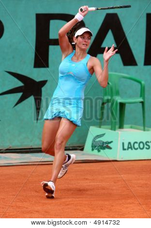 Julia Goerges (ger) At Roland Garros