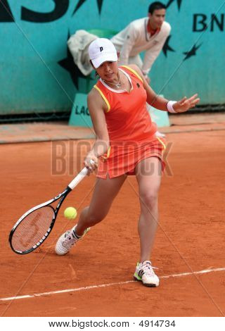 Junri Namigata (jpn) At Roland Garros